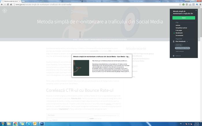 Evernote Social Media